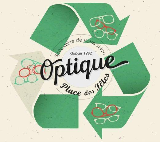 Collecte de lunettes pour assosiations chez Optique Place des Fêtes