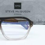 Détail Lunettes Steve Mc Queen eyewear Bruce brun dégradé cristal