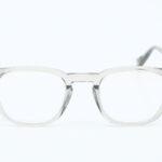 Lunettes Steve Mc Queen eyewear Cincinnati cristal fumé face