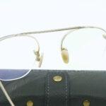Lunettes Steve Mc Queen eyewear Slater doré détail arrière