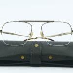 Lunettes Steve Mc Queen eyewear Wild doré face